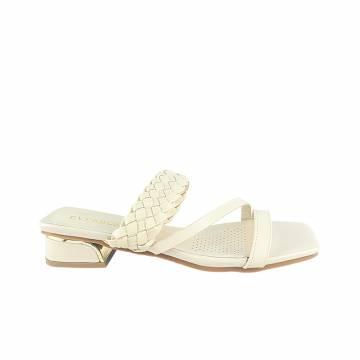 AMP0063 Everbest Women Shoes - Ladies Double Strap Slip On Sandals