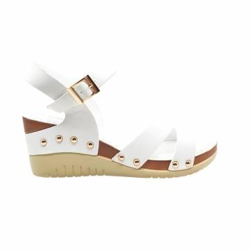 AMP0068 Everbest Women Shoes - Platform Ankle Strap Wedge Sandals