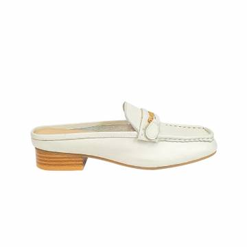 LH2007  Everbest Women's Shoes - Soft Leather Slip On Mules