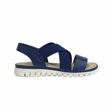 AMP5007 Everbest Women Shoes - TRACCE Ladies Elastic Band Flat Sandals