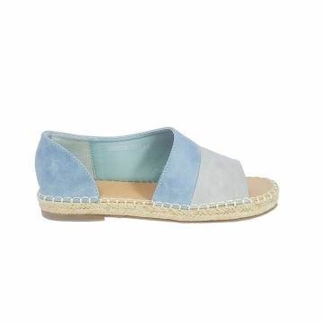AMN5306 Everbest Women Shoes - Ladies Peep Toe Espadrille Flats