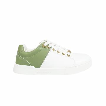 BJ7040 Everbest Women Shoes - Two tone Ladies Lace Up Sneaker