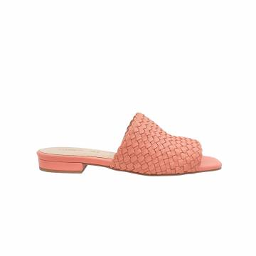 BZ6033 Everbest Women Shoes -  Leather Woven Slides from BRAZIL