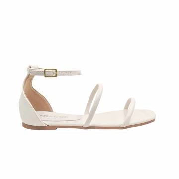 BZ8016 Everbest Women Shoes - TRACCE Flat Ankle Strap Sandals